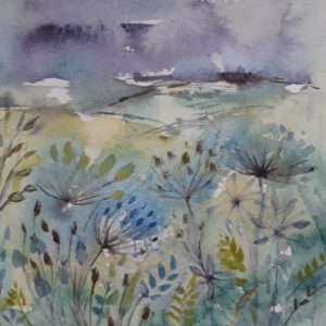 Seed Heads & Grasses – Greetings Card