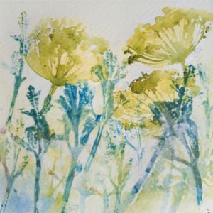 SummerHedgerow – Greetings Card